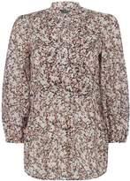 Lauren Ralph Lauren Druzetti 34 sleeve blouse