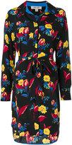 Diane von Furstenberg floral print shirt dress - women - Silk - 2