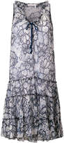 See by Chloe patterned shift dress