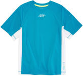 ZeroXposur Zero Xposur Short-Sleeve Grommet Rash Guard - Boys 8-20