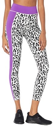 Michi Polaris Leggings (Ivory Leopard/Orchid) Women's Casual Pants