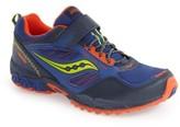 Saucony Boy's 'Excursion Shield' Water Resistant Trail Shoe