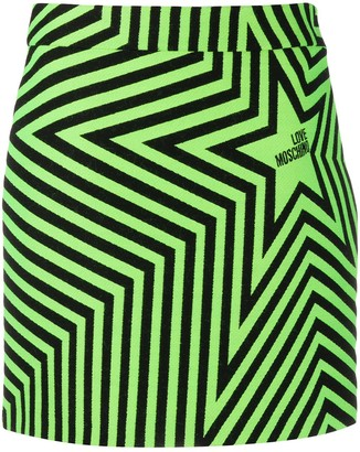 Love Moschino Star Print Skirt
