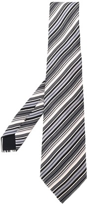 Hermes 2000's Pre-Owned Striped Tie