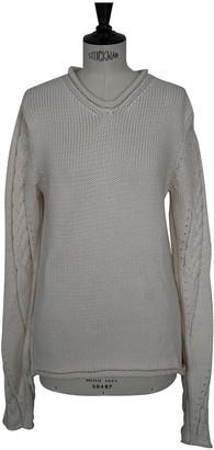 Loewe White Cotton Knitwear for Women