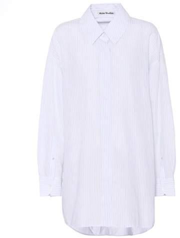 Acne Studios Britta Stripe cotton shirt