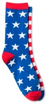 Bioworld Women's Crew Socks - Stars & Stripes One Size