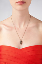 Pamela Love Mini Arrowhead Pendant in Antique Bronze
