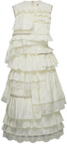 Simone Rocha Moncler Genius + Ruffled Tiered Taffeta Mini Dress
