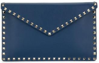 Valentino Rockstud envelope clutch bag