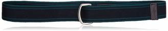 Izod Men's Two Color Stripe Belt