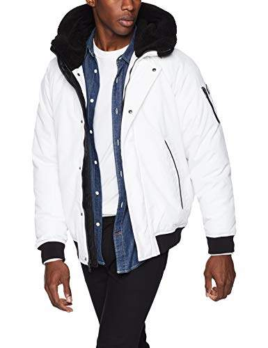 a7d6eb5a9 Men's Ultra Warm Bomber Jacket with Sherpa Trim Hood