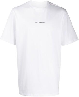 Oamc back print T-shirt