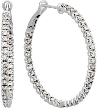 Heritage 14K 2.12 Ct. Tw. Diamond Hoops