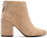 Senso Women's Jescinta II Suede Heeled Ankle Boots Sand