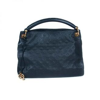 Louis Vuitton Artsy Navy Leather Handbags