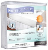 Protect A Bed Protect-A-Bed Underpad / Sheet Protector with Stabilizing Skirt