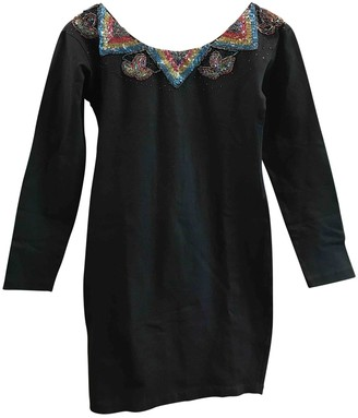 Hunza G Black Cotton - elasthane Dresses