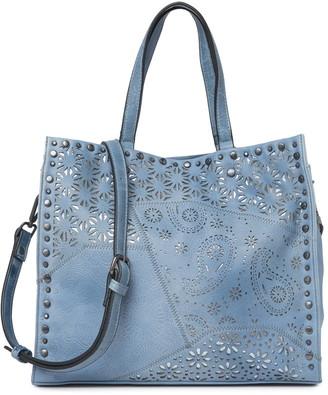 Moda Luxe Valerie Laser-Cut Tote Bag
