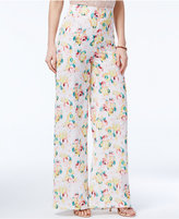 XOXO Juniors' Printed Wide-Leg Trousers