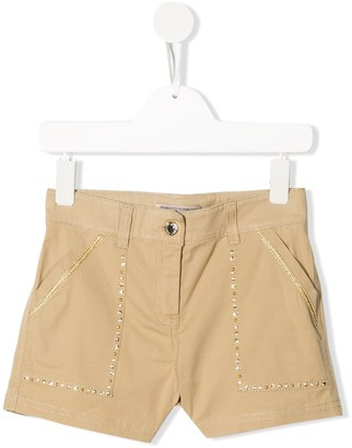 Ermanno Scervino Embellished Chino Shorts