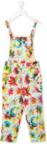 Junior Gaultier floral print jumpsuit - kids - Cotton/Viscose - 4 yrs