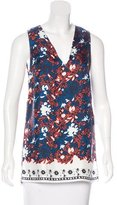 Thakoon Silk Printed Top w/ Tags