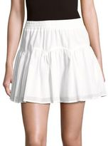 BCBGMAXAZRIA Lourdes Mini Tier-Skirt