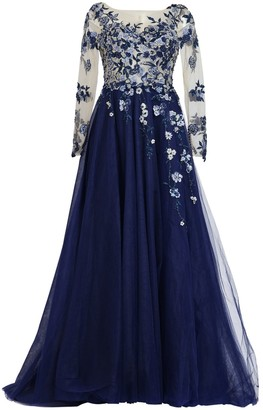 Couture Matsour'i Haute Gown Charleen Blue