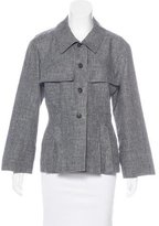 Chanel Linen Button-Up Top