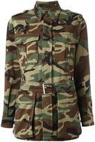 Saint Laurent Love army jacket