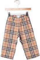 Burberry Boys' Nova Check Straight-Leg Pants