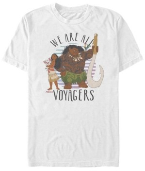 Disney Men's Moana We are all Voyagers, Short Sleeve T-Shirt