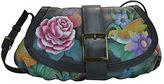 Anuschka Women's Small Ruched Flap Handbag