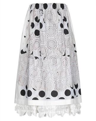 Comme des Garcons 3/4 length skirt