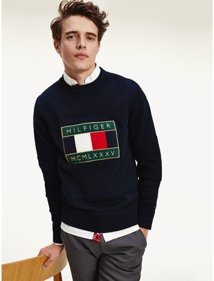 Tommy Hilfiger Icon Embroidered Badge Sweater