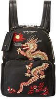 Valentino Garavani Embroidered Dragon Medium Backpack Bag