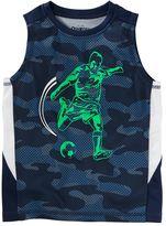 Osh Kosh Boys 4-12 Mesh Camouflaged Muscle Tank