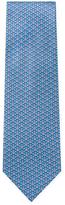 Salvatore Ferragamo Gancini Diamond Printed Tie
