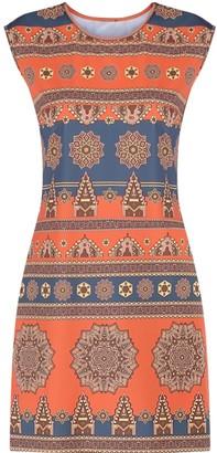 Gisy Earth Mandala Stretchy Active Dress
