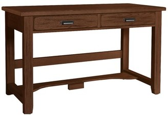 Rosalind Wheeler Mclaughlin Desk and Chair Set Frame Finish: Sienna