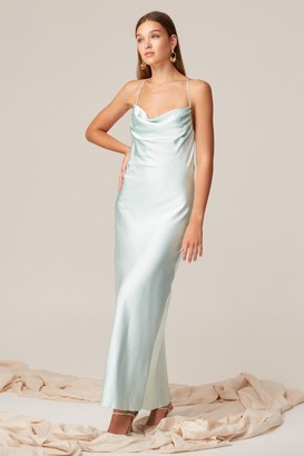 Keepsake TIME AND PLACE GOWN Seafoam