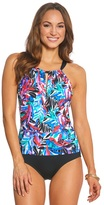 Jantzen Tropic Nights High Neck One Piece Swimsuit 8149425
