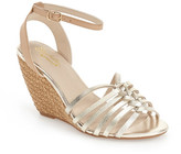 Seychelles Top Notch Knotted Wedge Sandal