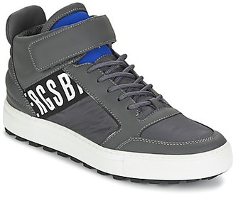 Bikkembergs TRACKER 766 men's Shoes (High-top Trainers) in Grey