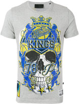 Philipp Plein print T-shirt - men - Cotton - L