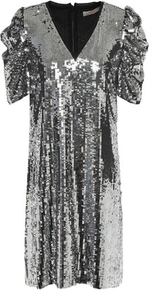 MICHAEL Michael Kors Sequined Chiffon Mini Dress