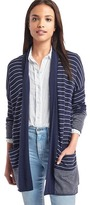 Gap Open-front stripe cardigan