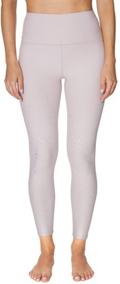 Betsey Johnson Metallic Star High-Rise Pocket Leggings