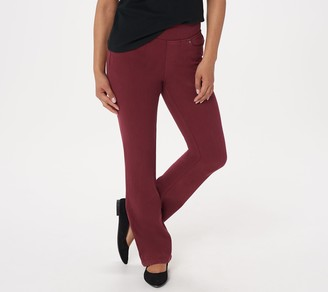 Belle by Kim Gravel Petite Flexibelle Boot-Cut Jeans
